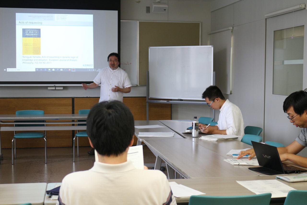 山田先生の講義